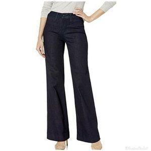 Nydj High Rise Wide Leg Jeans Size 10